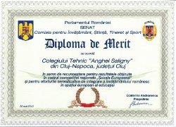 Diplome Colegiul Saligny
