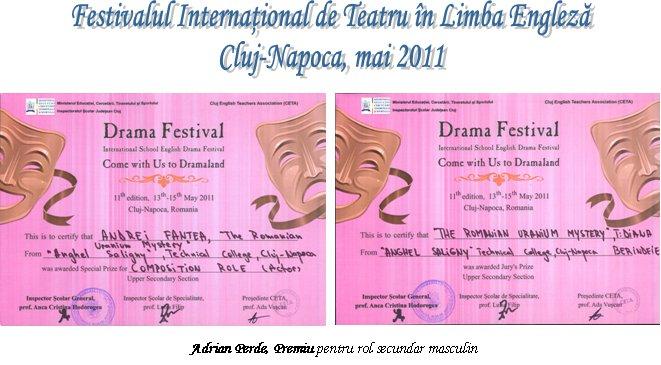 festival teatru engleza